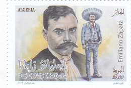 Algeria New Issue 2019,Emilinao Zapata 1v.complete Set MNH-SKRILL PAYMENT ONLY - Algeria (1962-...)