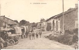 LEMMES (55) Militaires - Camions - France