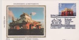 Great Britain 1983 Emergency Support Vessel Iolair,souvenir Cover - 1952-.... (Elizabeth II)