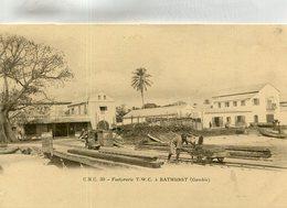 GAMBIE(BARTHURST) FACTORERIE - Gambia