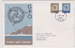 Great Britain-Guernsey  1968 Regional Ossues Machins,FDC - FDC