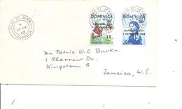 Dominique ( Lettre De 1968 De FondSaint-Jean Vers La Jamaique à Voir) - Dominica (...-1978)