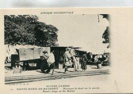GAMBIE(SAINTE MARIE DE BARTHURST) BOUTIQUE - Gambia