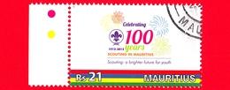 Nuovo Oblit. - MAURITIUS - 2012 - 100 Anni Dello Scoutismo A Mauritius - Scouting - 21 - Mauritius (1968-...)