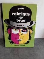 BD De Gotlib - Rubrique-à- Brac Tome 4 - 1976 - Gotlib