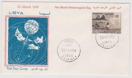 Libya 1969 World Meteorogical Day Day FDC - Libya