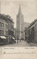 X121164 LUXEMBOURG ARLON SOUVENIR D' ARLON L' EGLISE ST. MARTIN PRECURSEUR AVANT 1904 FABRIQUE DE CLOUS DESTREE - DEFOIN - Arlon