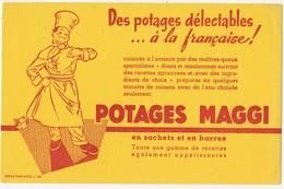 Buvard POTAGES MAGGI - Soups & Sauces