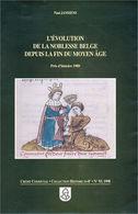 Evolution De La Noblesse Belge - Storia