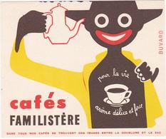 Buvard Cafés FAMILISTERE - Café & Thé