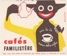 Buvard Cafés FAMILISTERE - Coffee & Tea