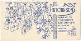 Buvard PNEUS HUTCHINSON / Pour Vélos, Vélomoteurs, Cyclomoteurs, Scooters, Motos - Bikes & Mopeds