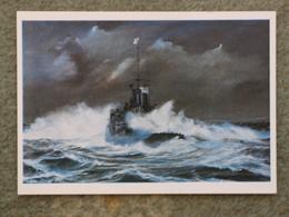 HMS RENOWN IN NORTH SEA GALE 1940 - MODERN - Warships