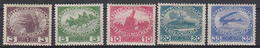 OOSTENRIJK - Michel - 1915 - Nr 180/84 - MH* - Unused Stamps