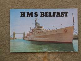 HMS BELFAST IN POOL OF LONDON - Warships
