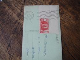 5.4.1939  Versailles Congres Obliteration  Sur Timbre A La Gloire Du Genie 70 Plus 50 Bord De Feuille - Postmark Collection (Covers)