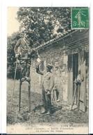 Arès ( Gironde) , Métiers , Le Facteur Des Dunes à échasses , Distribution Du Courrier - Arès