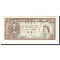Billet, Hong Kong, 1 Cent, 1971-1981, KM:325b, NEUF - Hong Kong