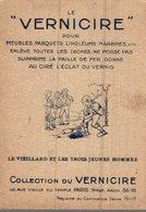CHROMO LE VERNICIRE PARIS  FABLE  LE VIEILLARD ET LES TROIS JEUNES HOMMES - Cromos