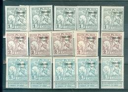 100-102-104   5x   Xx    625.00€ - 1910-1911 Caritas