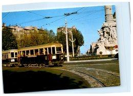 Chemin De Fer - Tramways De Marseille - Place Castellane , Train Coder Réversible - Tramways