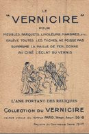 CHROMO LE VERNICIRE PARIS  FABLE  L'ANE PORTANT DES RELIQUES - Cromos