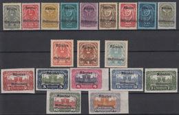 OOSTENRIJK - Michel - 1920 - Nr 321/39 - MNH** - Unused Stamps