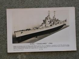 HMS VANGUARD - MODEL RP - Warships