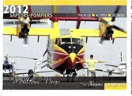 SAPEURS POMPIERS  2012 - Calendriers