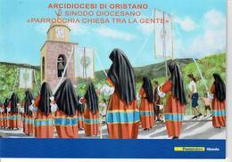ITALIA 2015 - FOLDER ARCIDIOCESI DI ORISTANO - SENZA SPESE POSTALI - 6. 1946-.. Repubblica