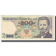 Billet, Pologne, 200 Zlotych, 1986, 1986-06-01, KM:144c, TB - Pologne