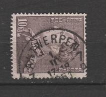 COB 434B Oblitération Centrale ANTWERPEN 7 - 1936-51 Poortman