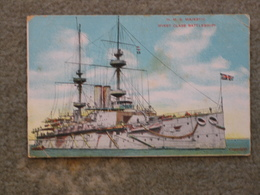 HMS MAJESTIC BATTLESHIP - Warships