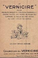CHROMO LE VERNICIRE PARIS  FABLE  LE LOUP DEVENU BERGER - Cromos