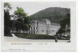 Marienbad - Central - Bad - Seibt 2254 - Undivided Back - Czech Republic