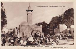 Cp , 75 , PARIS , Exposition Coloniale Internationale De 1931, Section Tunisienne, Souks - Expositions