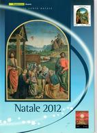 ITALIA 2012 - FOLDER  NATALE 2012  - SENZA SPESE POSTALI - 6. 1946-.. Repubblica