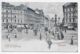 Budapest - Partie Von Oktogon Platz - Undivided Back - Hungary