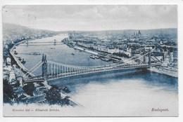 Budapest - Eliisabeth Brucke - Undivided Back - Hungary