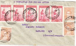 ARGENTINA AIRMAIL COVER 1937 - Argentinië