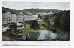 Marienbad - Neue Parkenlagen - Stefansstrasse - Seibt 6617 - Undivided Back - Czech Republic