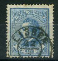 PORTUGAL ( POSTE ) : Y&T  53   TIMBRE  BIEN  OBLITERE  . - 1862-1884 : D.Luiz I