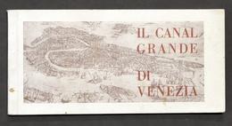 Veneto Turismo - Il Canal Grande Di Venezia - Ed. Pesenti Del Thei - Anni '30 - Livres, BD, Revues