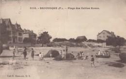 CPA - Brignogan - Plage Des Sables Roses - Brignogan-Plage