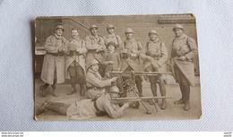 MILITARIA : Grouope De Militaires Avec 2 Mitrailleuses  ..................... MD-1266 - Manoeuvres