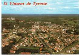 - CPM SAINT-VINCENT DE TYROSSE (40) - Vue Générale Sur La Ville 1985 - Editions CHATAGNEAU 3443 - - Saint Vincent De Tyrosse