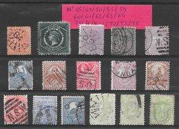 Nouvelle-Galles Du Sud Classiques Lot De 16 Tp 1871-1898 O - Gebraucht