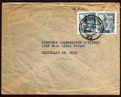Girostamps54.- INTERESANTE SOBRE COMERCIAL CIRCULADO DE LETAMAN CIRCULADO DE SAN SEBASTIAN A CLEVELAND (OHIO) - 1931-Hoy: 2ª República - ... Juan Carlos I