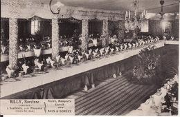 79 SOULBROIS Près De THOUARS 1914 -- BILLY Narcisse -- TRAITEUR  Noces - Banquets - Lunch - Autres Communes