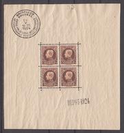 BELGIË - OPB - 1924 - BL 1 (ZEER MOOI) - MNH** - Blocs 1924-1960